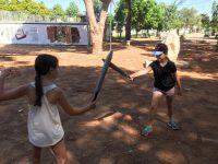 קרב חרבות בפסטיבל ירוק ולא רחוק